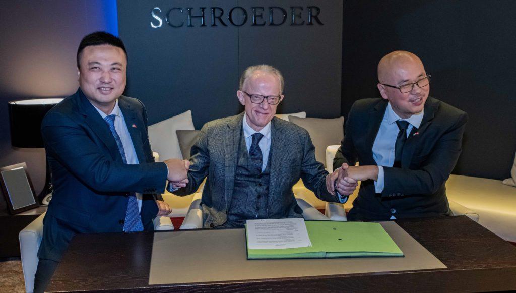 Schroeder contrat Asie