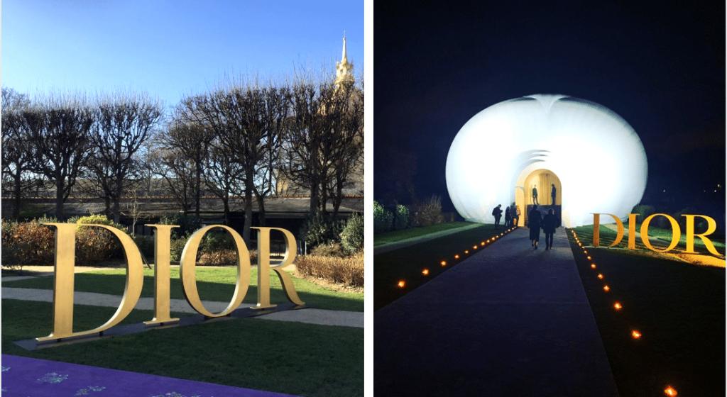 Exposition Dior musée Rodin