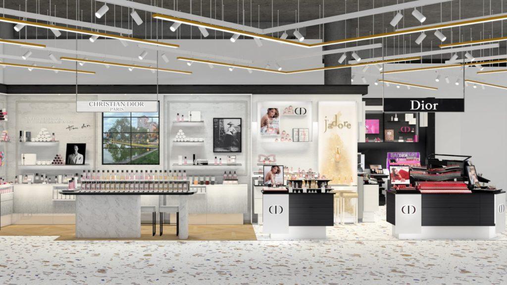 Corner Dior Galeries Lafayette